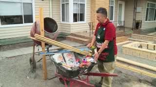 How To Install Posts For A Picket Fence - Diy At Bunnings