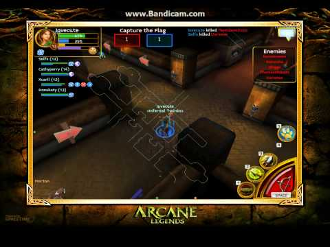 ARCANE LEGENDS: Pvp Rogue (level13) Iovecute Infernal Twinks