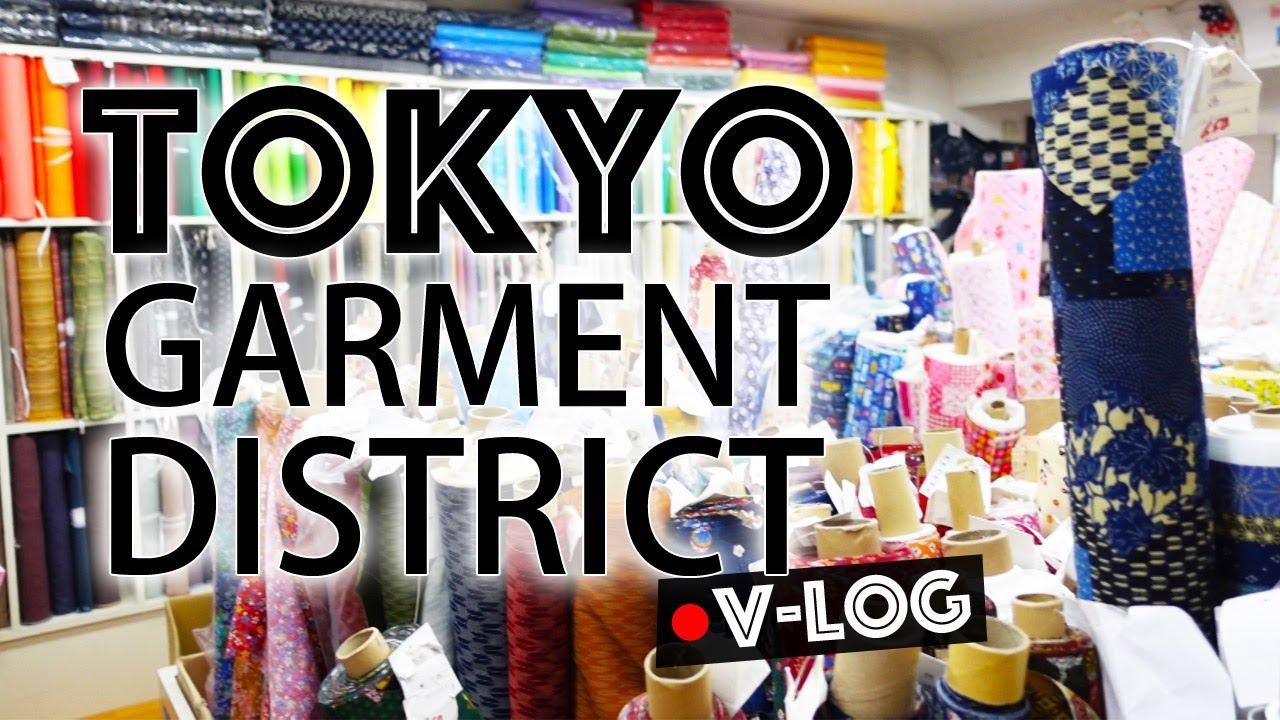 Tokyo Garment District Adventure // Fabric Shopping V-Log