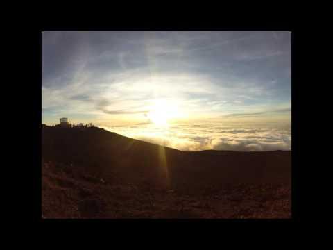 Sunset on Haleakalā National Park, Maui