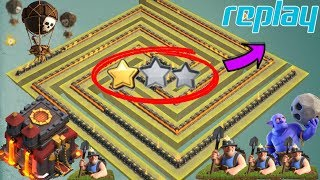 NEW TH10 War Base 2018 Vs Anti Lavaloon Anti 1 Star/Anti 2 Star With Replay Anti Everything
