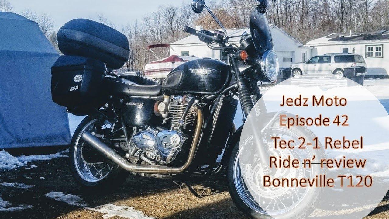 Tec 2 to 1 walk around and ride Triumph Bonneville T120
