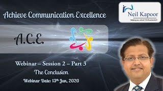 Achieve Communication Excellence Webinar   2   Part 3