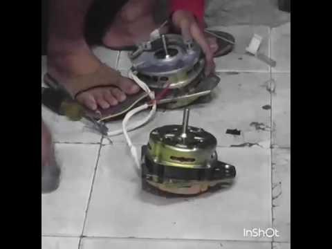 Cara Reparasi/Service Mesin Cuci 2 Tabung (ganti dinamo dan belt)
