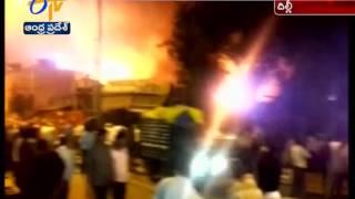Massive Fire Near Sadar Bazar In Old Delhi, 30 Fire Engines At Spot