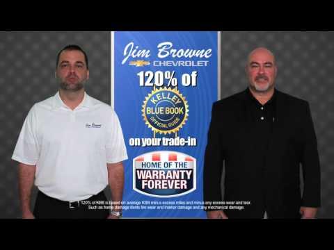 "Jim Browne Chevrolet  ""October Chevy Bonus Tag Event"""
