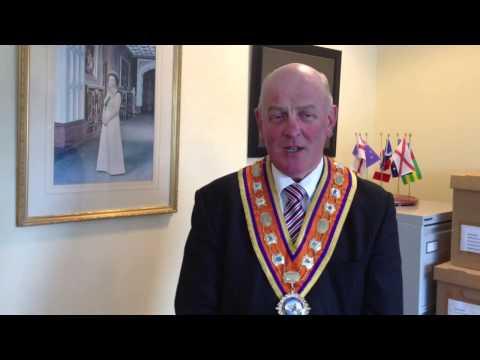 Grand Master congratulates Queen on Coronation anniversary