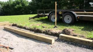 Building a storage shed - how to build a firewood storage shed