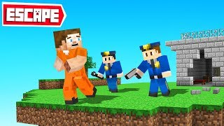 We ESCAPED From a Minecraft PRISON! (got caught)
