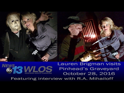 2016 WLOS News 13 Reporter Lauren Brigman visits Pinhead