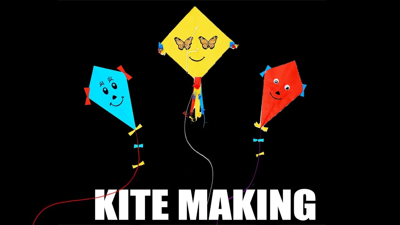 Why Are Kids Different At Home And At >> Diy How To Make Kite At Home Crafts For Kids Different Kites