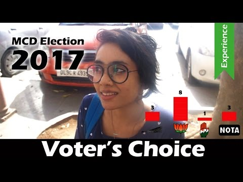 MCD Election 2017 | Let's ask the voters DIRECTLY