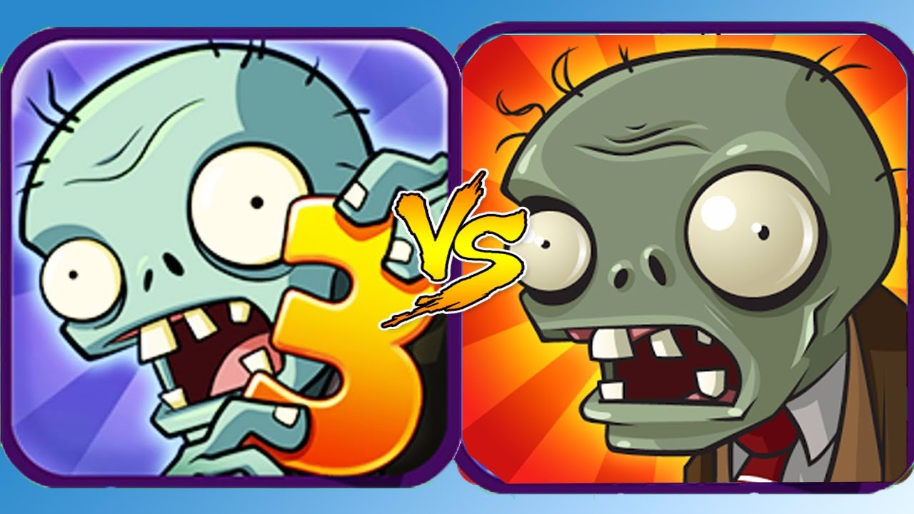 Plants vs Zombies 3 vs Plants vs Zombies - YouTube