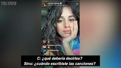 Camila Cabello explains Shameless & Liar (Subtitulado)