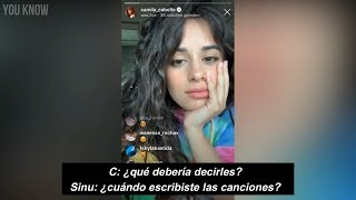 Camila Cabello explains Shameless & Liar (Subtitulado)