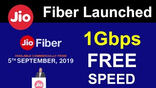 JioFiber Launched | Free Voice, Free Movies, Free TV, Free Internet | Jio SetTopBox Plans