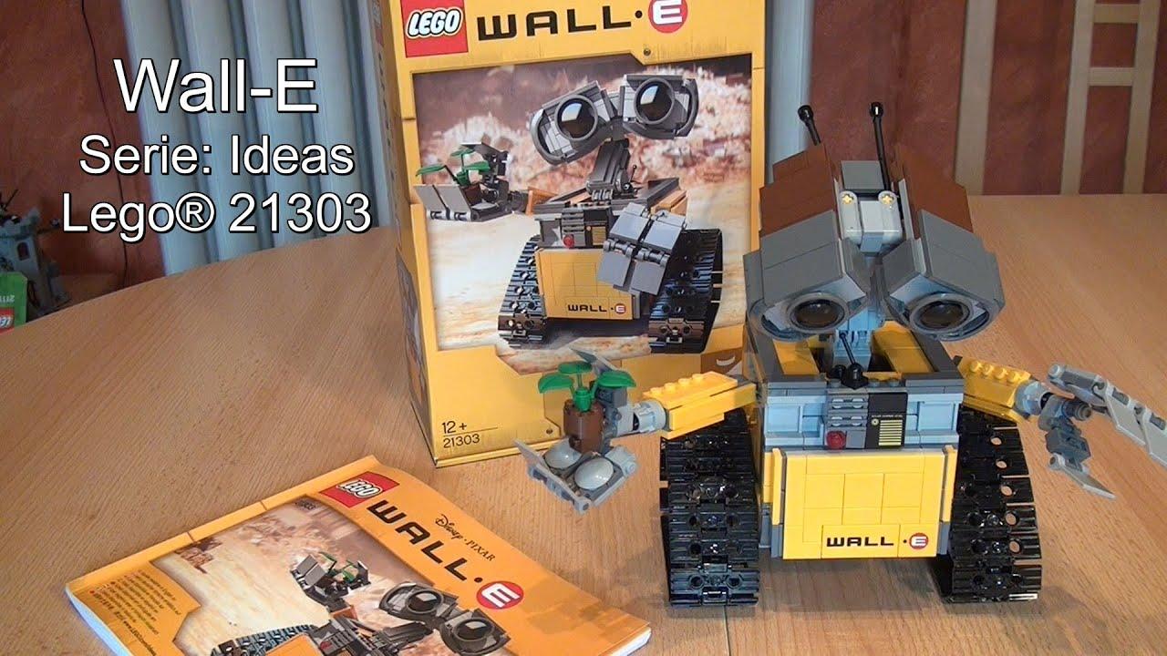 Lego Wall E Review Test Ideas Set Deutsch