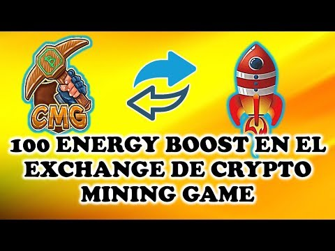 🚀100 ENERGY BOOST EN EL EXCHANGE DE CRYPTO MINING GAME