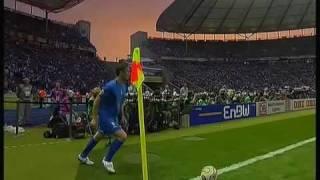 ITALIA - FRANCIA - FINALE MONDIALI GERMANIA 2006 (1/2)