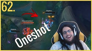 Leblanc ONESHOT champ comeback - Imaqtpie on DrDisRespect - LoL Daily Moments Ep 62