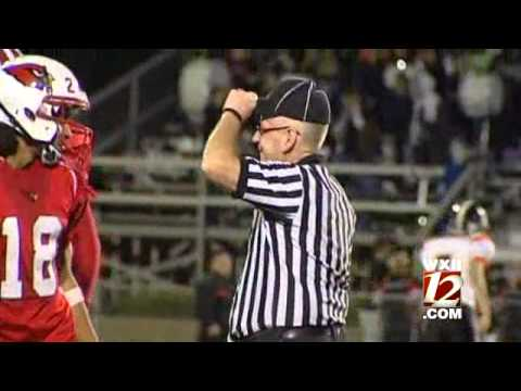 Ref Bonked During High School Football Game