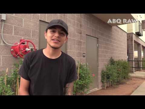 ABQ RAW interviews Editz Macias - eye2eye filming Jandro Music Video - Albuquerque, NM