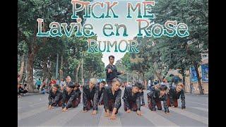 [ KPOP IN PUBLIC CHALLENGE ] IZ*ONE MASHUP PICK ME - LAVIE EN ROSE - RUMOR DANCE COVER BY OOPS! CREW