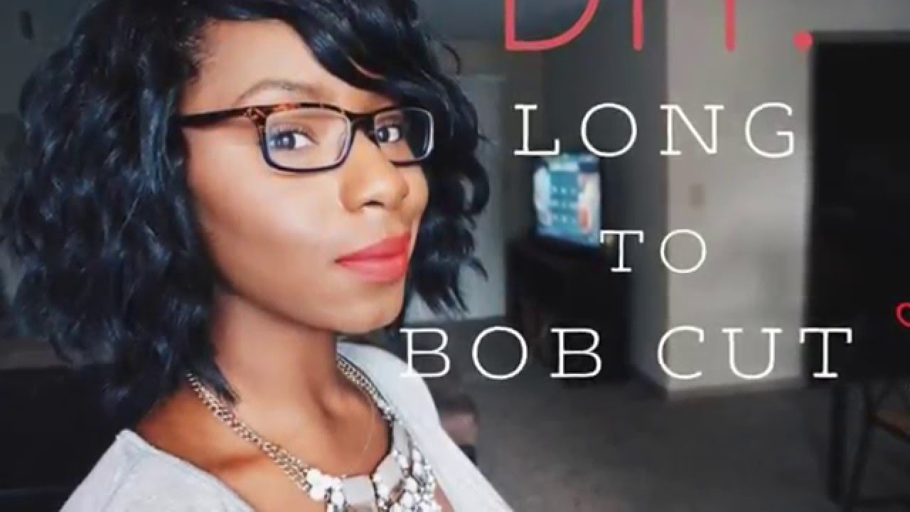 Long To Short Bob Cut Freetress Loose Deep Crochet Braids Youtube