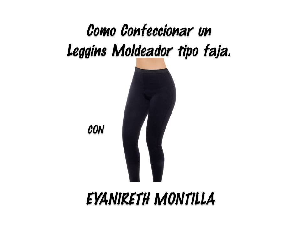 Confeccion de Leggins moldeador tipo faja - YouTube