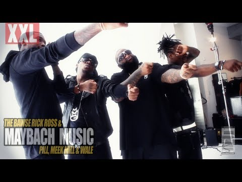 RICK ROSS AND MAYBACH MUSIC GROUP XXL COVER PHOTO SHOOT