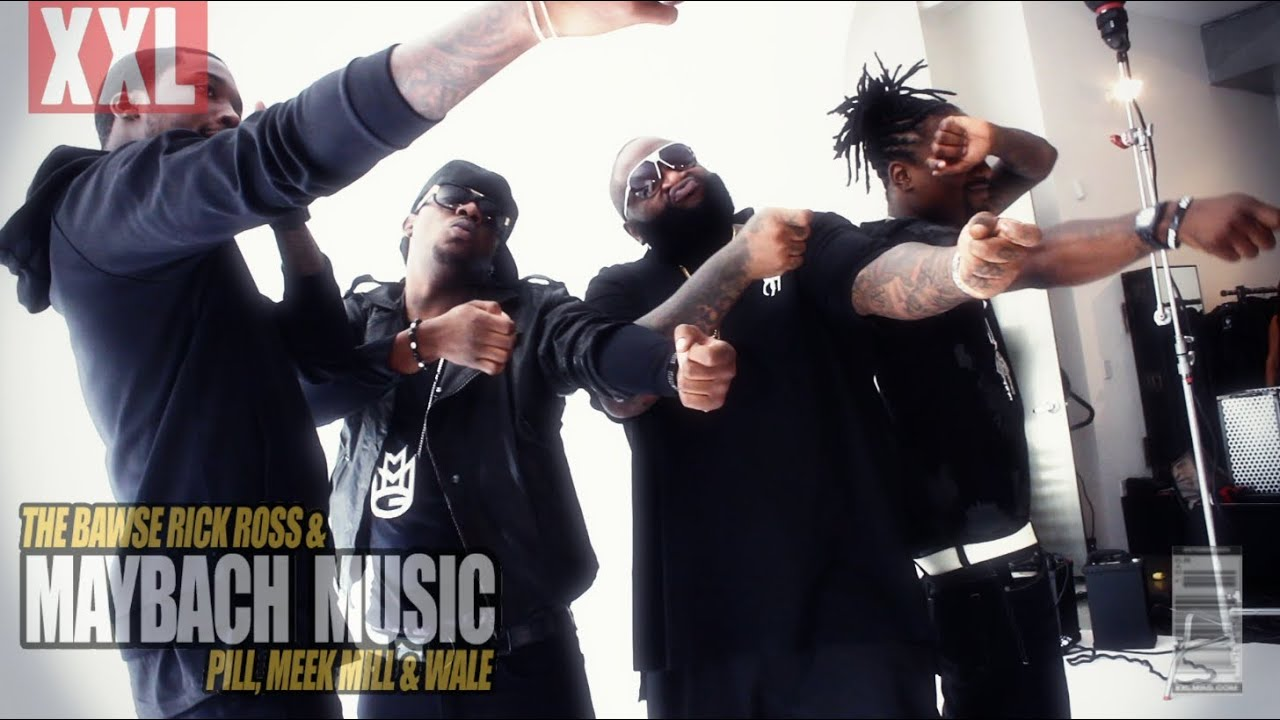 RICK ROSS AND MAYBACH MUSIC GROUP XXL COVER PHOTO SHOOT - YouTube