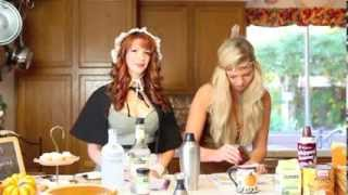 Pumpkin Pie Martini Recipe With 'nikki & Sierra' By Fossil Creek Liquor, Tx (for Over 21 Only)