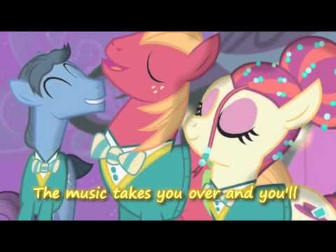 "MLP:FiM ""Find the Music in You"" Lyrics on Screen"