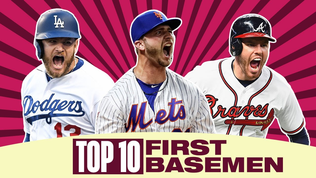 Top 10 First Basemen of 2020