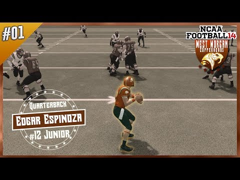 Welcome To West Morgan University: Roster, Uniforms and More!! | NCAA Football 14 Dynasty Ep. 1