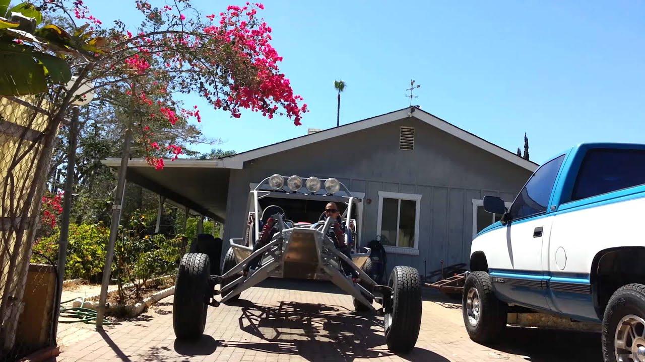 Long travel dune buggy