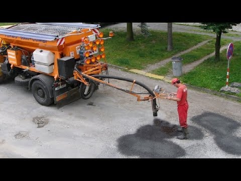 World Amazing Modern Road Repair Machine - Latest Technology Road Construction Machinery