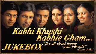 Video Kabhi Khushi Kabhie Gham Full Audio Songs | Jukebox download MP3, 3GP, MP4, WEBM, AVI, FLV Oktober 2019