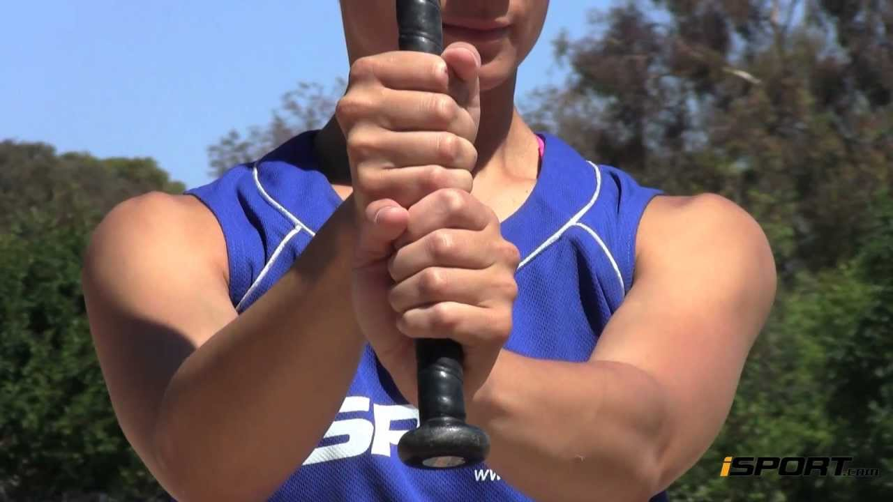 e64a1f94fcd How to Hit a Softball  The Stance   Grip - YouTube