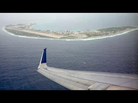Nice Engine Roar! United Airlines B737-800 - Kwajalein to Kosrae