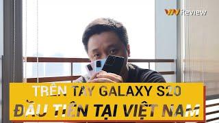 Trên Tay Galaxy S20, S20+, S20 Ultra Đầu Tiên Trên Thế Giới! - Hands On Galaxy S20