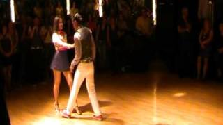 Jariel Garcia & Tate Blomquist Bachata Performance to Toby Love's Dimelo