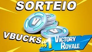 Fortnite - SORTEIO VBUCKS GRATUITOS AGORA !! COMO GANHAR VBUCKS FREE !! NOVO EVENTO ESPECIAL !!