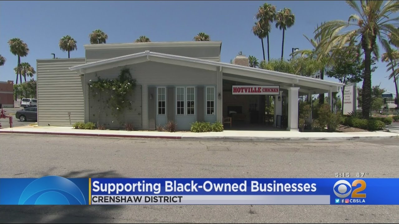 SoCal Residents Support Black-Owned Businesses For Blackout ...
