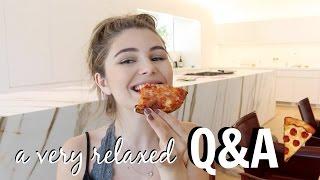 lets talk & eat pizza | Olivia Jade