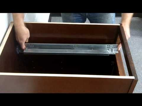 how to install slow closing drawers 3