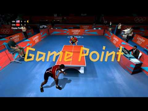 London 2012: The Official Video Game - Men's Table Tennis