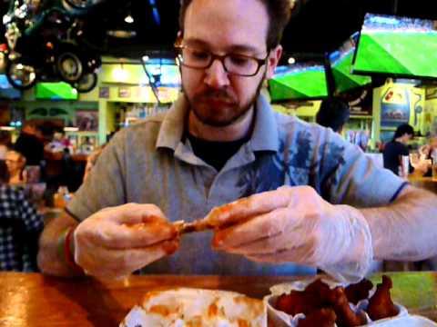 DOUBLE Triple Atomic Wing Challenge (12 Wings) Quaker Steak & Lube