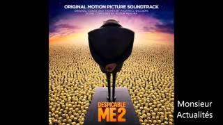 Gambar cover Despicable Me 2 OST Soundtrack Y M C A  by The Minions