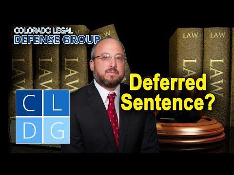 How Do I Get A Deferred Sentence In Colorado?